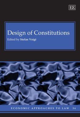 Design of Constitutions