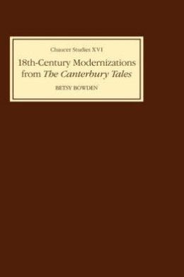 Eighteenth-Century Modernizations from the Canterbury Tales