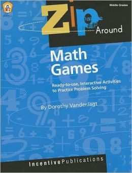 Zip Around Games Math