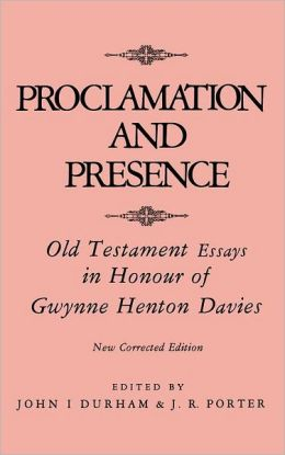 Proclamation And Prescence
