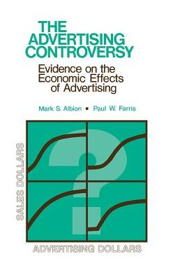The Advertising Controversy: Evidence on the Economic Effects of Advertising