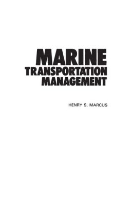 Marine Transportation Management