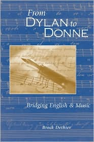 From Dylan to Donne: Bridging English and Music