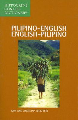 PILIPINO-ENG/E-P CONC DICT