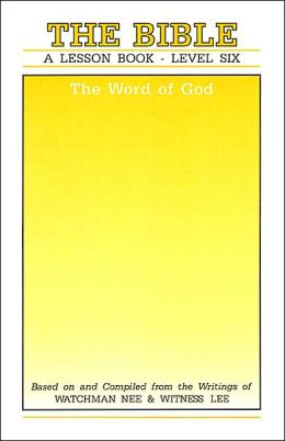 Lesson Book: Bible, the Word of God
