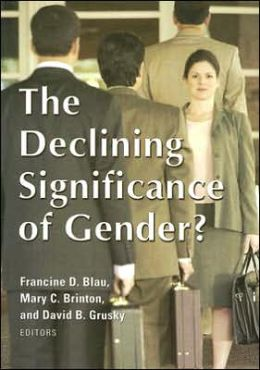 Declining Significance of Gender?