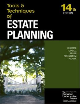 Tools & Techniques Estate Planning 14th ed
