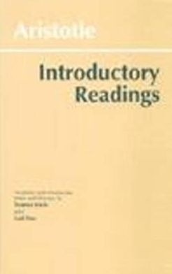 INTRODUCTORY READINGS / ARISTOTLE