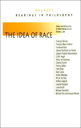 THE IDEA OF RACE