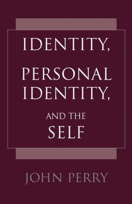 Identity, Personal Identity, and the Self
