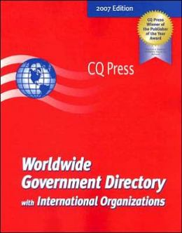 Worldwide Government Directory With International Organizations 2007