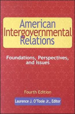 American Intergovernmental Relations, 4th Edition