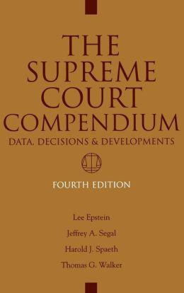 Supreme Court Compendium, 4th Ed