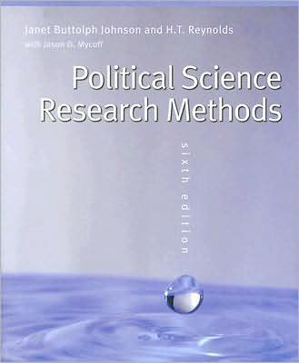 Political Science Research Methods, 6th Edition