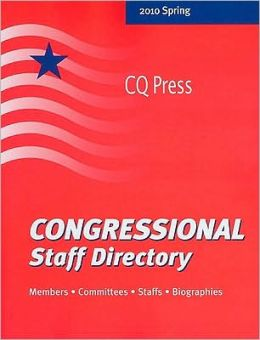 Congressional Staff Directory 2010/Spring