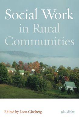 Social Work in Rural Communities