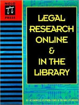 Legal Research Online and in the Library
