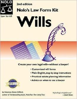 Nolo's Law Form Kit: Wills