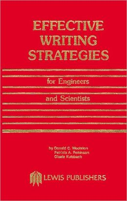 Effective Writing Strategies for Engineers and Scientists