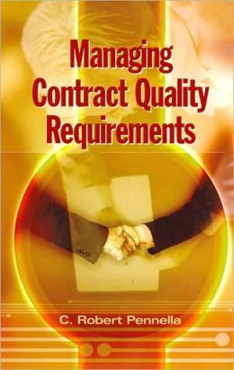 Managing Contract Quality Requirements