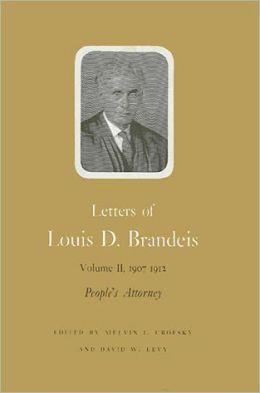 Letters of Louis D. Brandeis: Vol. 5