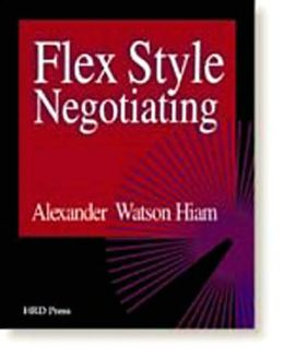 Flex Style Negotiating: Self Assessment