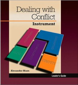Dealing with Conflict: Instrument, Leader's Guide