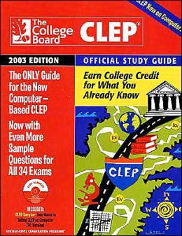 CLEP Official Study Guide 2003