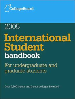 International Student Handbook 2005