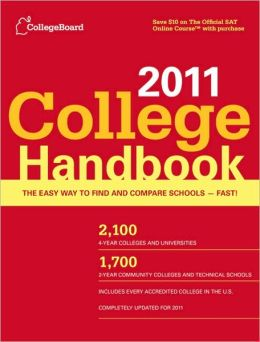 The College Handbook 2011