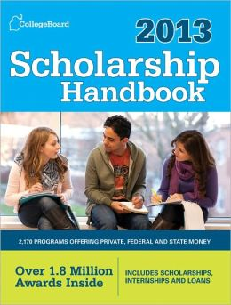 Scholarship Handbook 2013: All-New 15th Edition