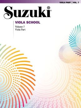 Suzuki Viola School, Vol 7: Viola Part