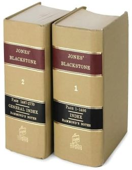 Commentaries on the Laws of England (2 Volume Set)