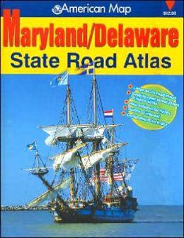 Maryland/Delaware Road Atlas