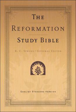 Reformation Study Bible Black