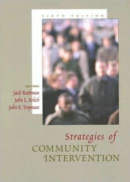 Strategies of Community Intervention