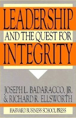 Leadership and the Quest for Integrity