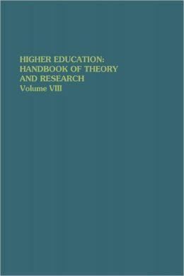 Higher Education: Handbook of Theory and Research: Volume VIII