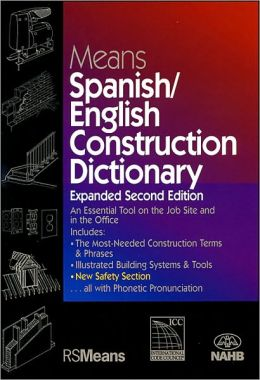 Means Spanish/English Construction Dictionary