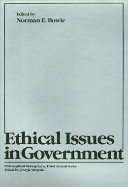 Ethical Issues in Government