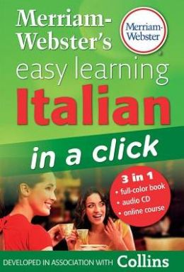 Merriam-Webster's Easy Learning Italian in a Click