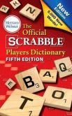Book Cover Image. Title: The Official SCRABBLE Players Dictionary, Fifth Edition, Author: Merriam-Webster