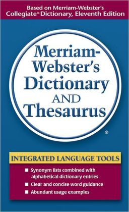 merriam webster medical dictionary book