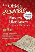 Book Cover Image. Title: The Official SCRABBLE � Players Dictionary, Fourth Edition, Author: Merriam-Webster