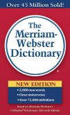 Book Cover Image. Title: The Merriam-Webster Dictionary, Author: Merriam-Webster, Inc.