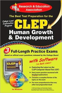 CLEP Human Growth and Development Plus CD