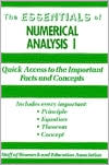 Numerical Analysis I Essentials