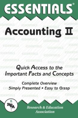 Accounting II Essentials (REA)