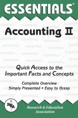 Accounting II Essentials (REA)