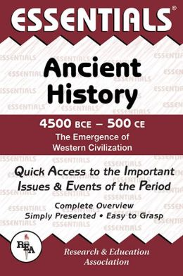 Ancient History: 4500 BCE to 500 CE